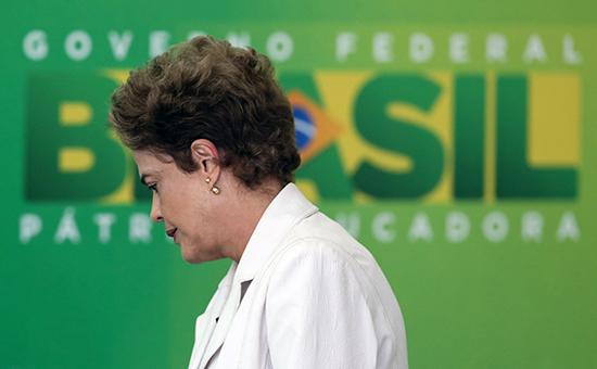 Президент Бразилии Дилма Руссефф