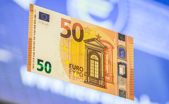 Новая купюра достоинством €50
