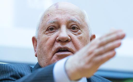 Президент СССР илауреат Нобелевской премии мира Михаил Горбачев