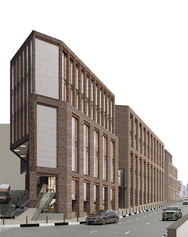 Многофункциональное здание, Земляной Вал, 77-78
