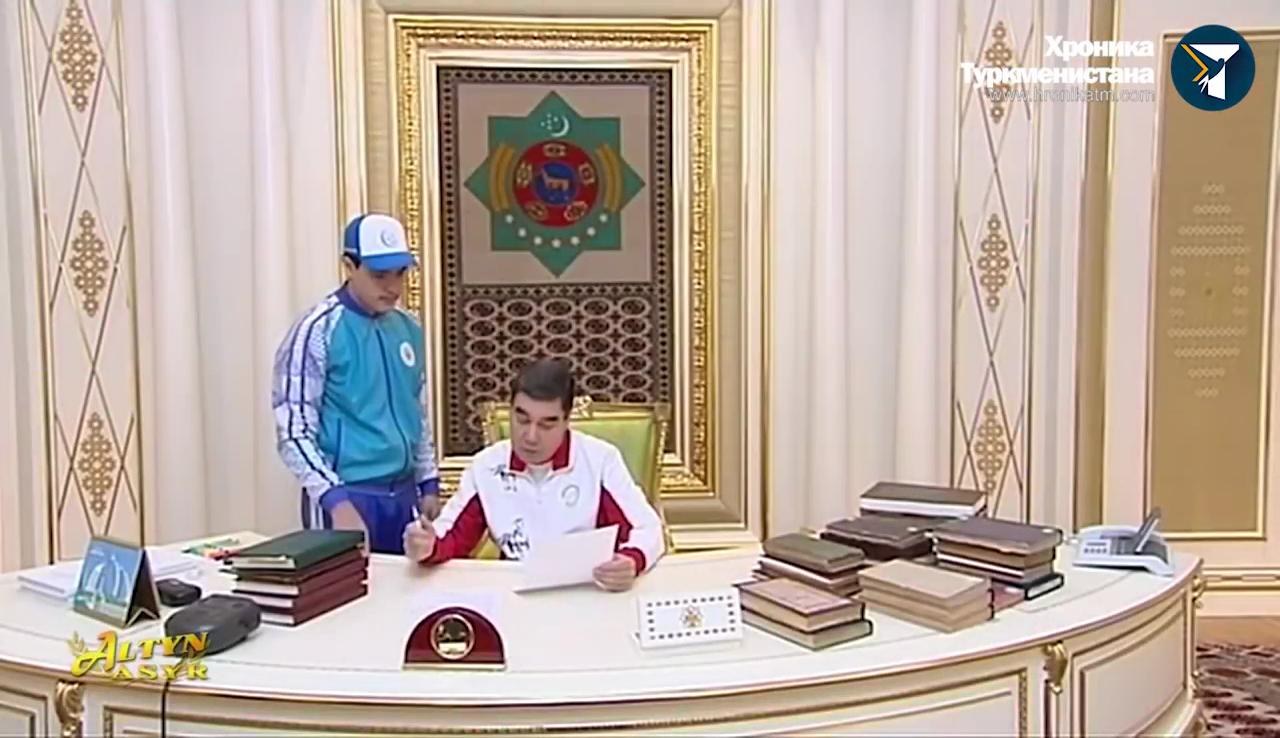 Видео:Хроника Туркменистана / YouTube