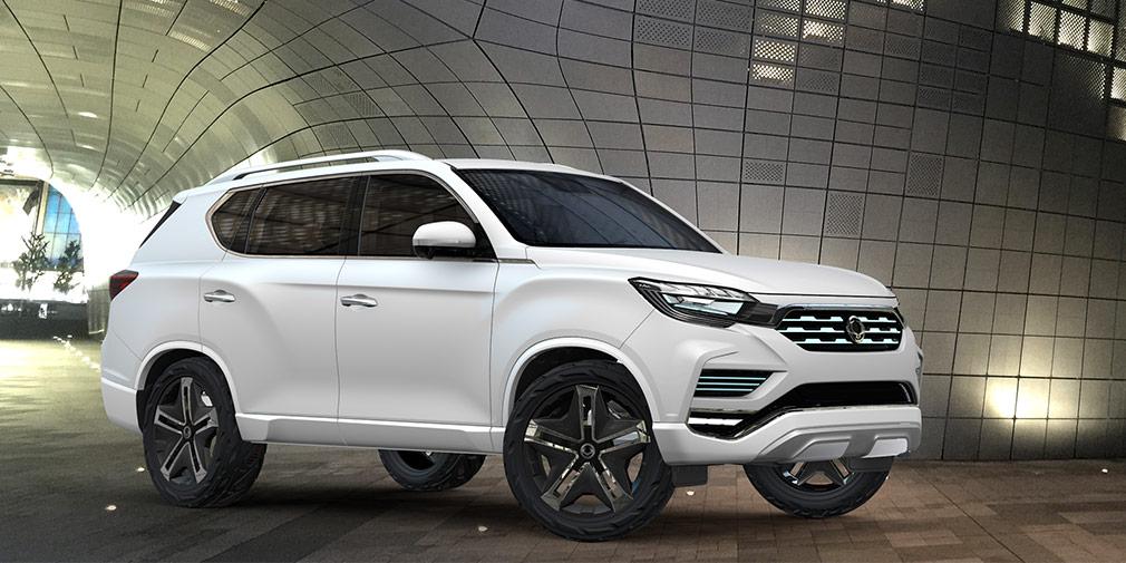 SsangYong LiV 2  Крупный кроссовер, который корейцы обещали привезти до конца года, пока не имеет товарного названия. Прототип под именем LiV 2 представили в Париже почти год назад. В модельном ряду автомобиль займет условное место внедорожника Rexton, однако будет иметь более современную конструкцию. Известно, что у модели будет 2,0-литровый бензиновый турбомотор и дизель объемом 2,2 литра.