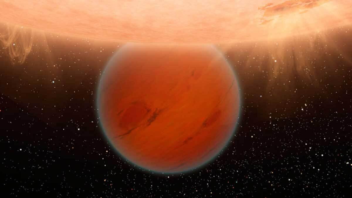 Экзопланета GJ 436 b