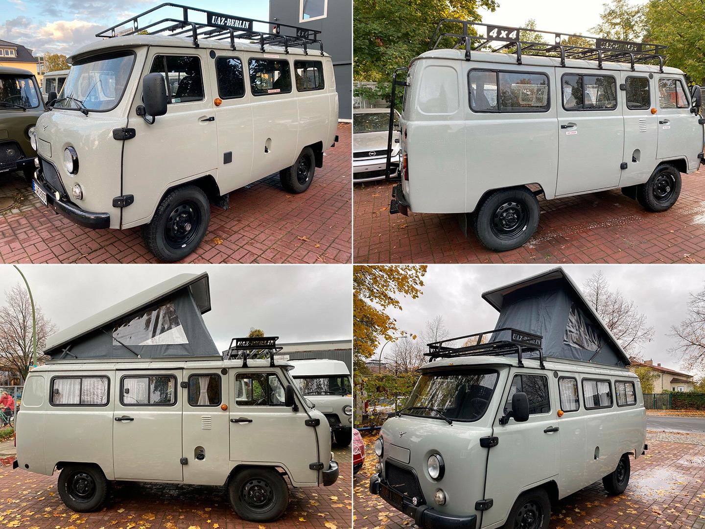 УАЗ-452 из Берлина