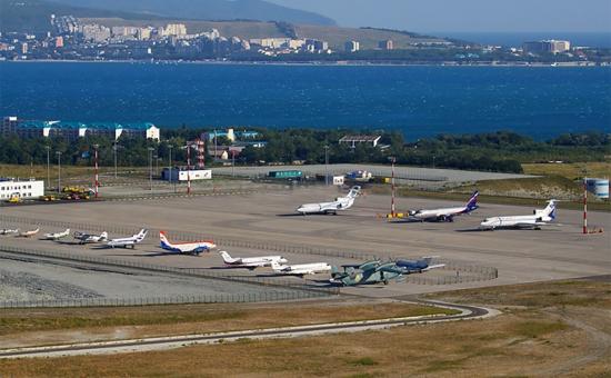 Аэропорт в Геленджике.