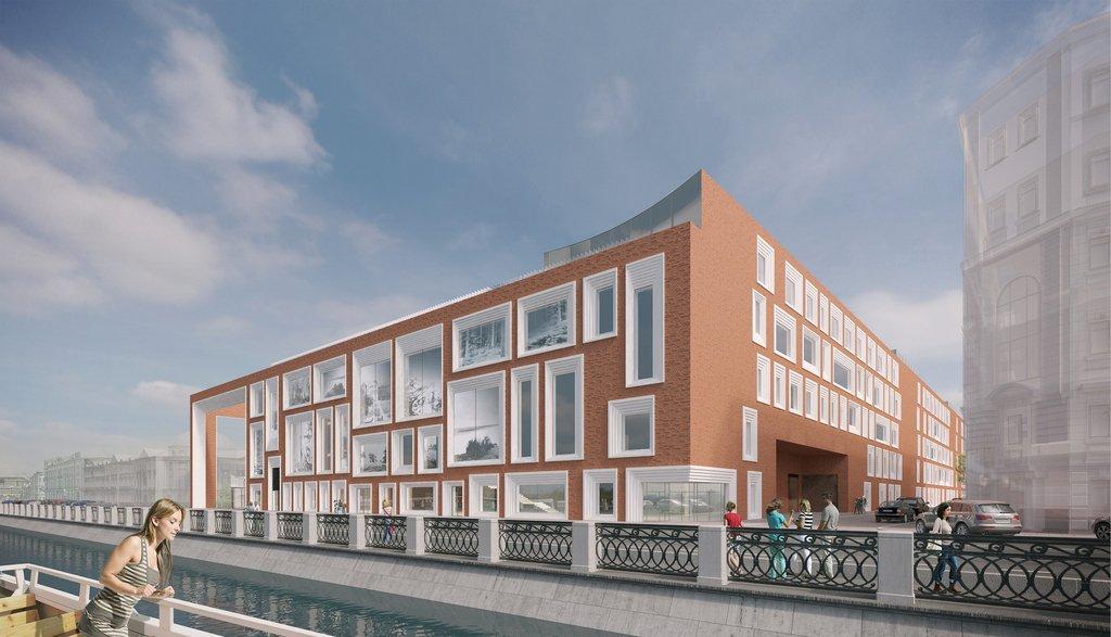 Проект нового здания Третьяковской галереи на Кадашевской набережной