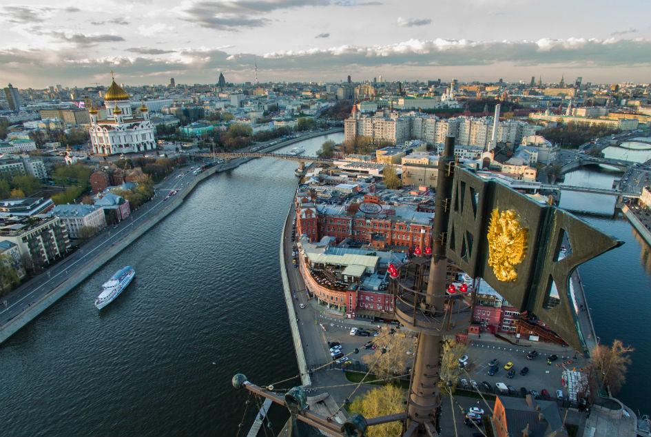 Москва-река и водоотводной канал