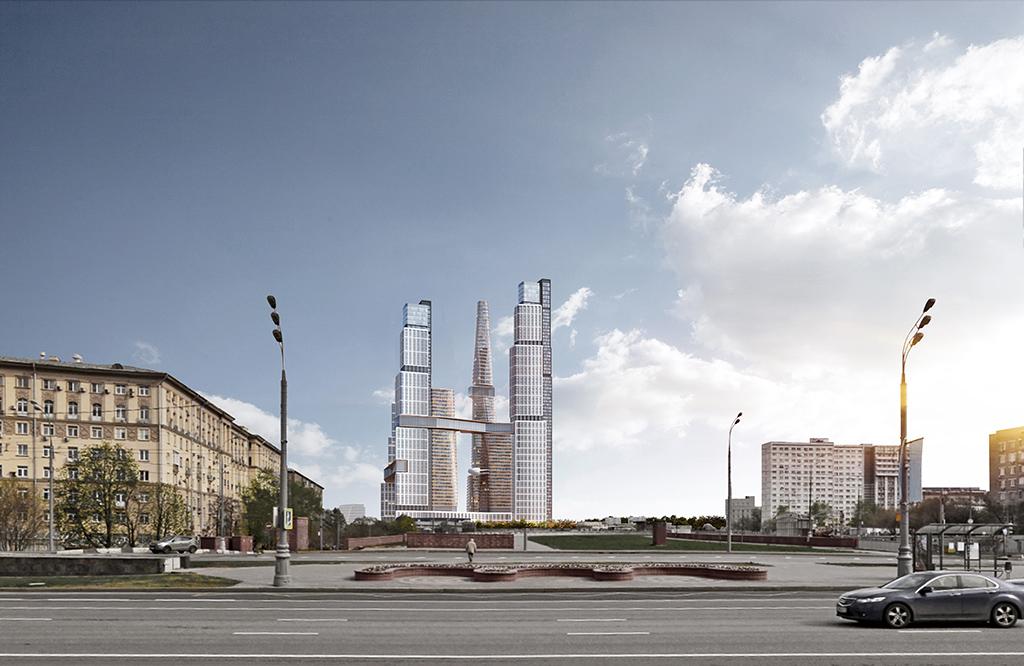 «Нескучный Home & Spa» станет архитектурной доминантой Донского района Москвы. Высота 69-этажного небоскреба из контрастирующих геометрических объемов достигнет 262 м и позволит дому попасть в десятку самых высоких сооружений российской столицы. Высота самой маленькой башни нового небоскреба составит 140 м