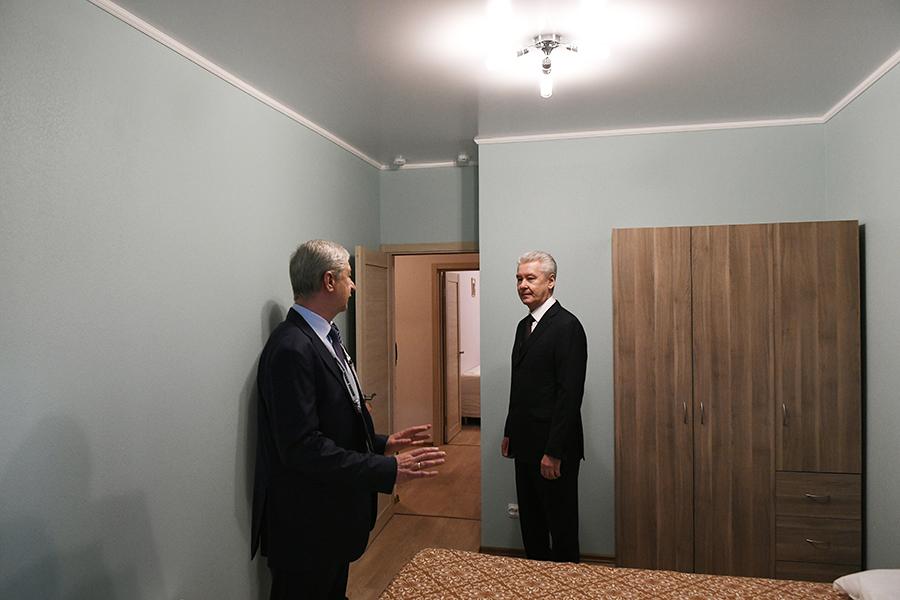 Шоу-рум был представлен на Moscow Urban Forum, его осмотрел мэр столицы Сергей Собянин
