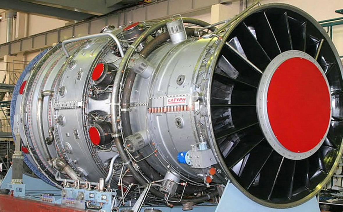 Газотурбинная установка ГТД-110М