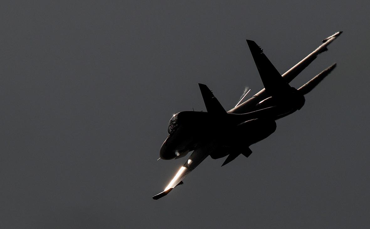 Истребитель Су-30СМ