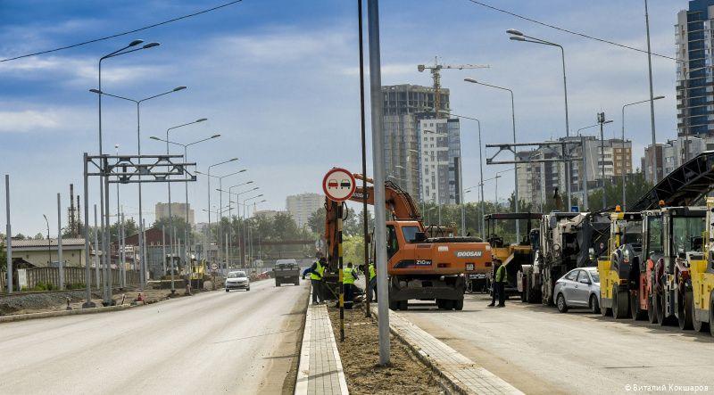 Власти назвали дату открытия первого участка ул. Строителей
