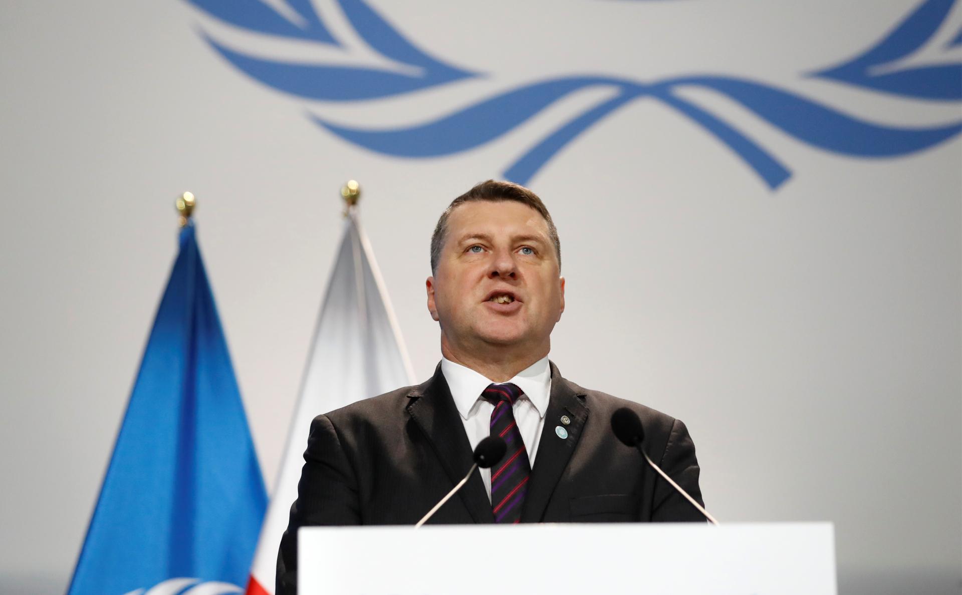Президент ЛатвииРаймондс Вейонис
