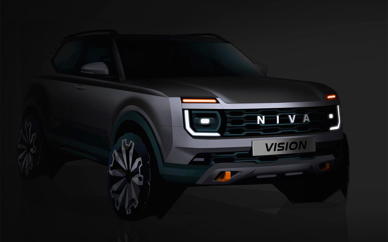 <p>Судя по представленному на мероприятии Renaulution скетчу, внешность новой машины будет очень сильно перекликаться с классическим автомобилем, который теперь называется Lada Niva Legend.</p>