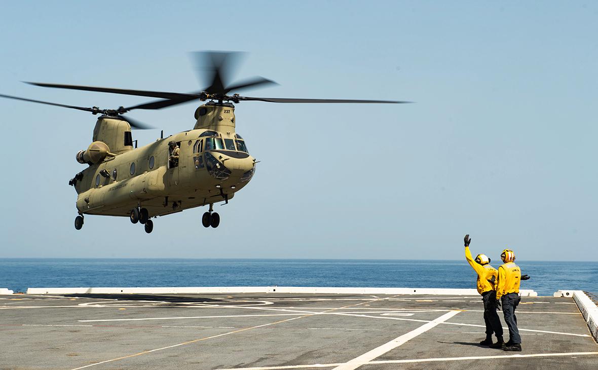 Вертолет CH-47D Chinook