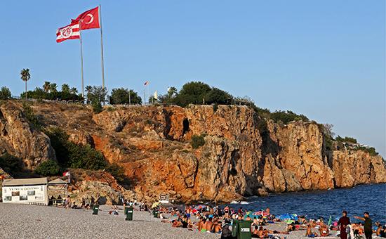 Турецкий берег впреддвериитуристов изРоссии