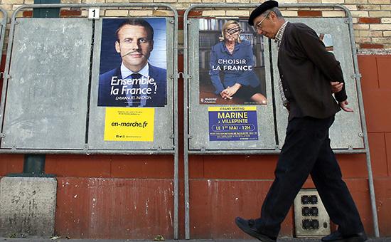 Во Франции начался второй этап президентских выборов