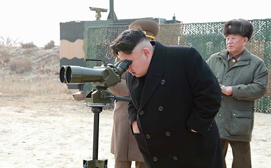 Северокорейский лидер Ким ЧенЫн, декабрь 2014 года