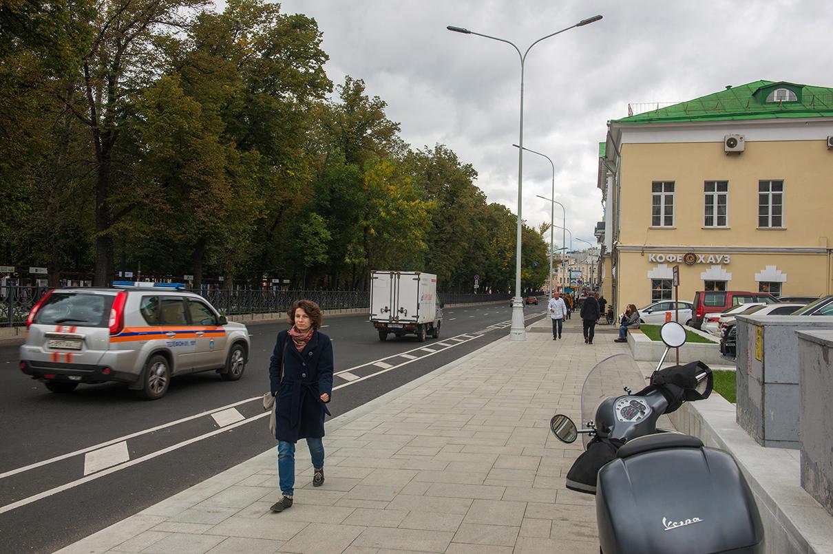 Страстной бульвар после реконструкции по программе «Моя улица»