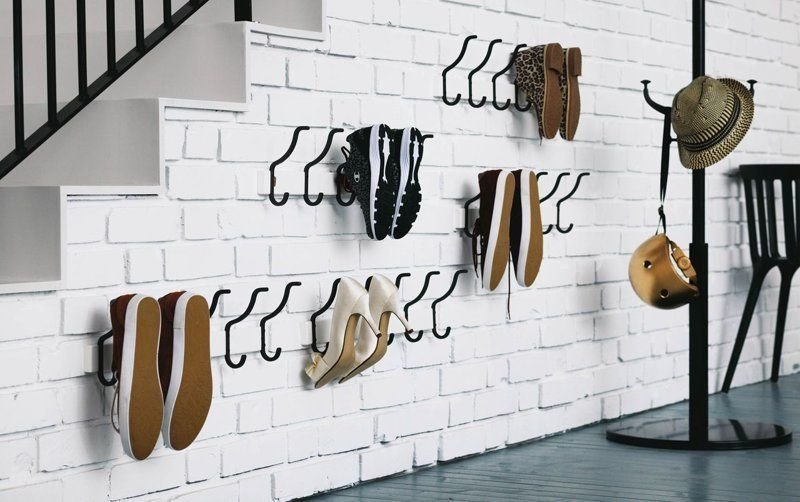 Крючки для хранения обуви