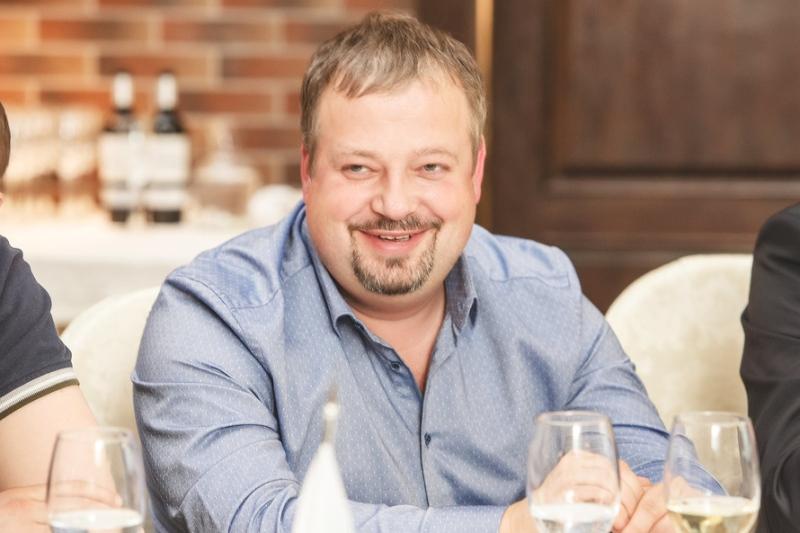 Максим Здрадовский, владелец ресторанов «Британника», «Пеперончино», «Пармезан».