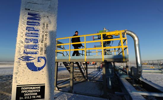 Газовое месторождение Бованенково в Ямало-Ненецком автономном округе