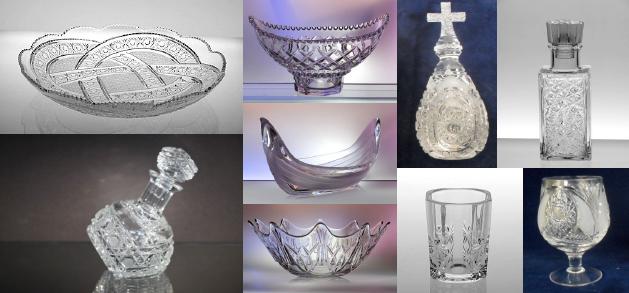 Изображения хрустальных изделий из документов госзаказа