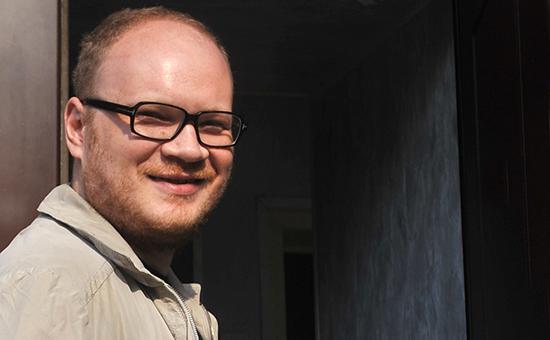 Журналист Олег Кашин, на которого в ноябре 2010 года было совершено нападение