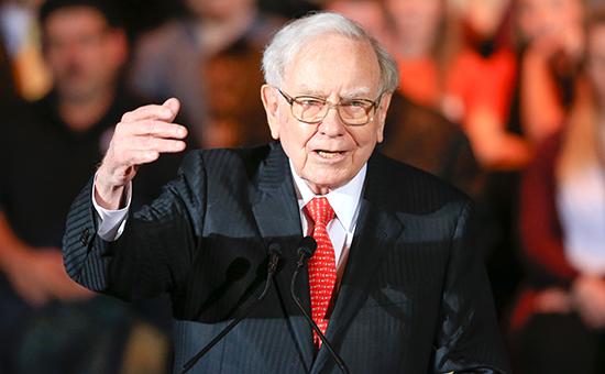 Глава холдинговой компании Berkshire Hathaway Уоррен Баффет