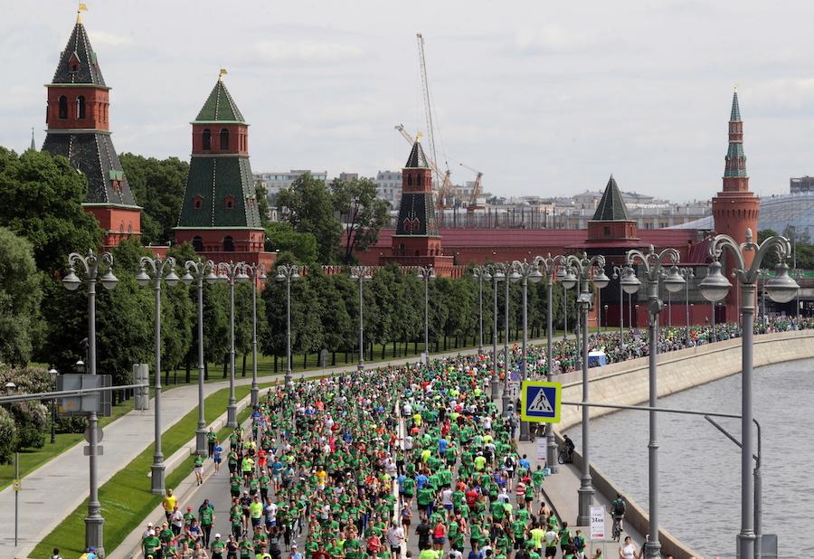 Благотворительный марафон «Бегущие сердца», июнь 2019 года