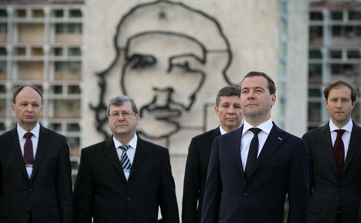 Рабочий визит ДмитрияМедведева на Кубу. 2013 год
