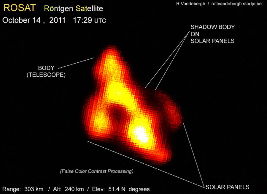Спутник ROSAT X-Ray