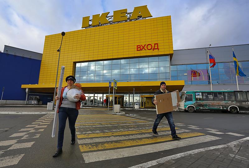 Торговый центр Мега Дыбенко компании ИКЕА