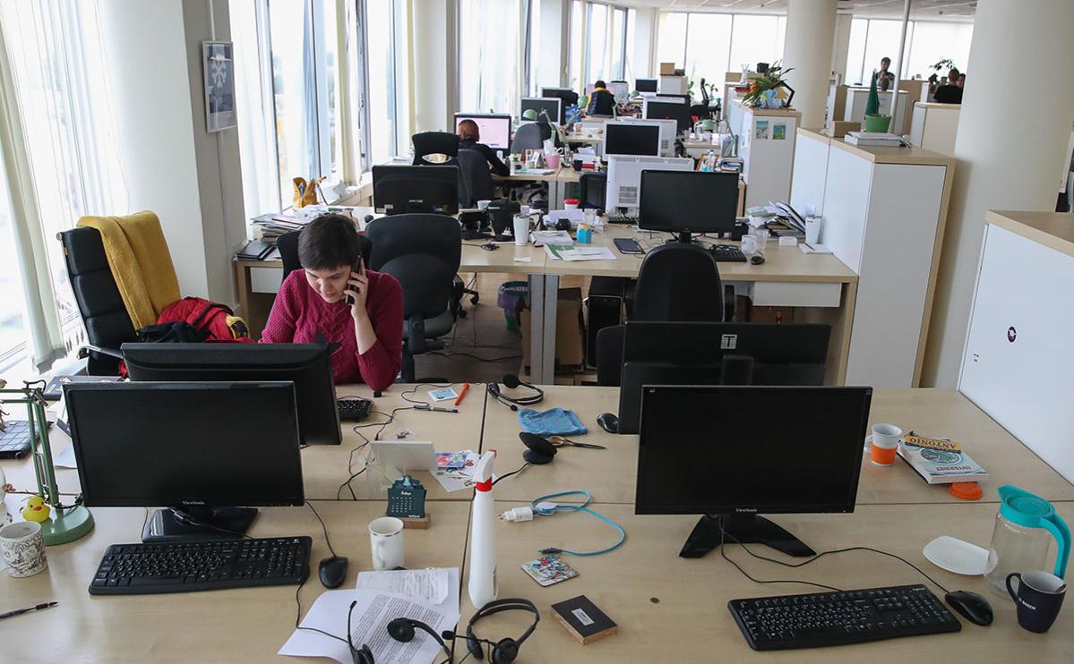 В офисе белорусского сетевого издания Tut.by