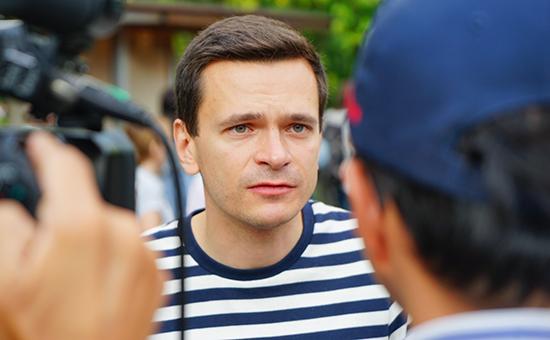 Зампредседателя партии ПАРНАС Илья Яшин