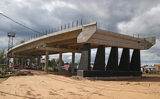 Строительство ЦКАД. Август2016 года