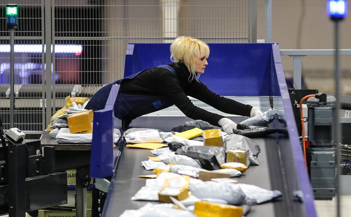 Логистический почтовый центр «Почты России»