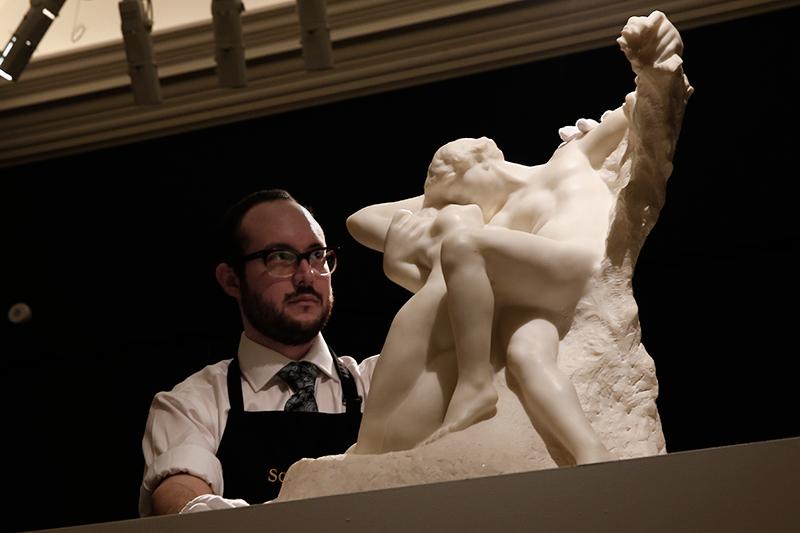 Скульптура «Вечная весна» французского скульптора Огюста Родена.