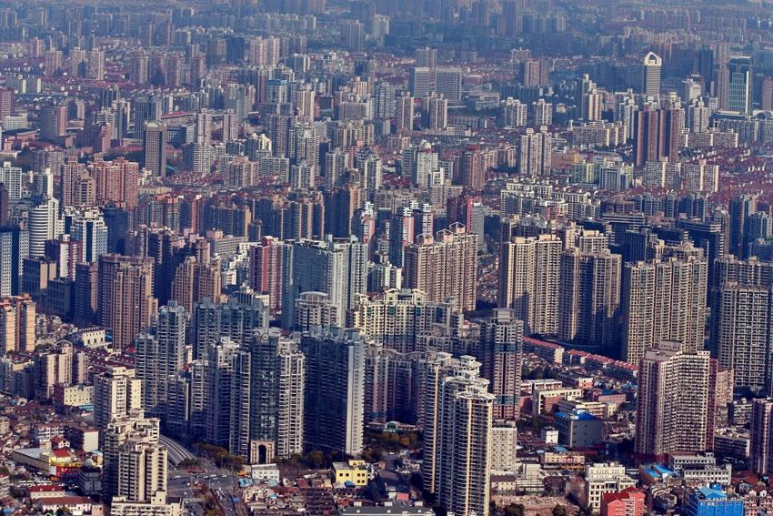 Индустриальная застройка Шанхая