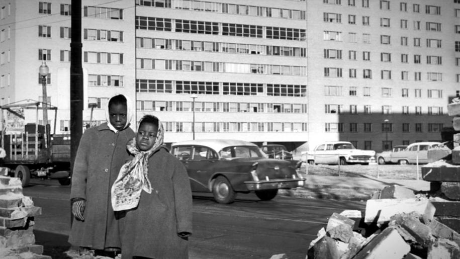 В квартале жили представители разных рас
