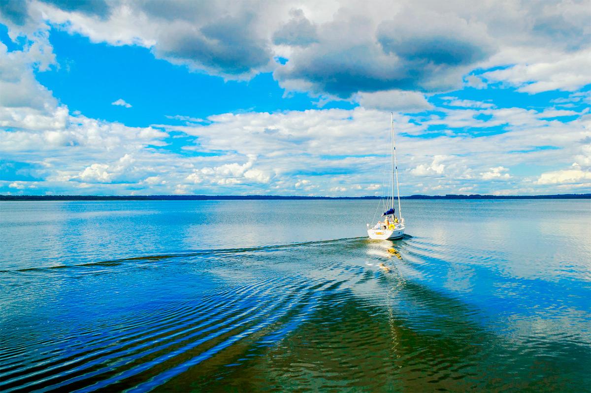 <p>Озеро Селигер</p>
