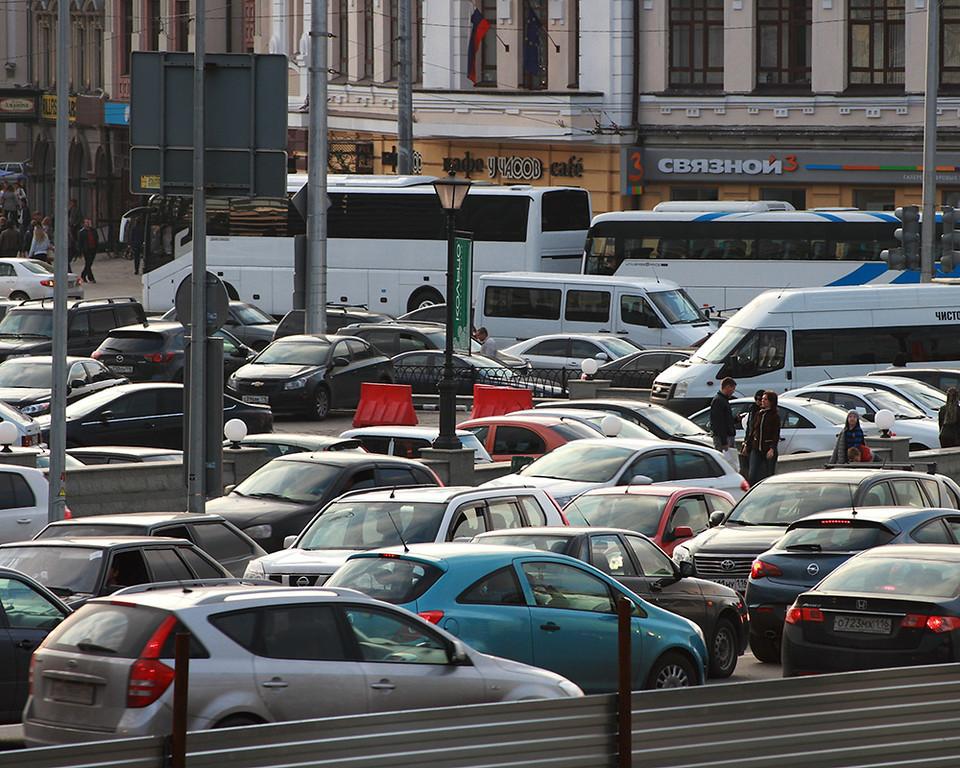 Автомобилистов Казани штрафуют на 50 млн рублей в год за скрытие номеров