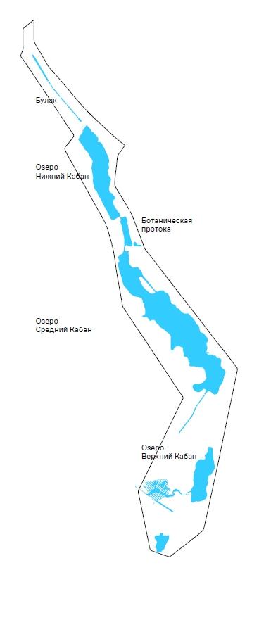 Границы территории для разработки архитектурно-градостроительной концепции