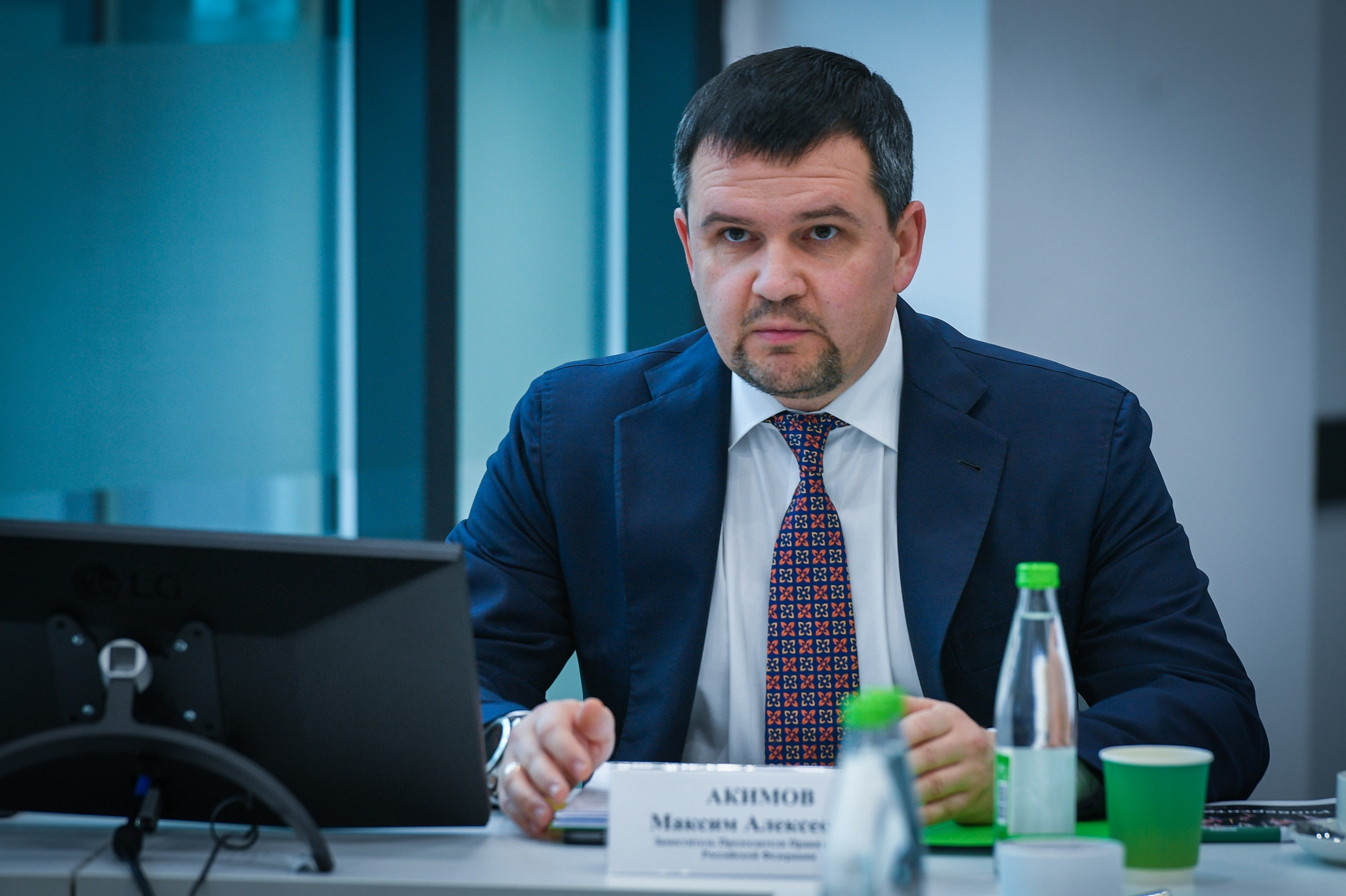 Вице-премьер РФ МАксим Акимов