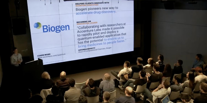 Кирби Линвел (Accenture Labs)— о совместных научных исследованиях Accenture Labs, Biogen и стартапа 1QBit