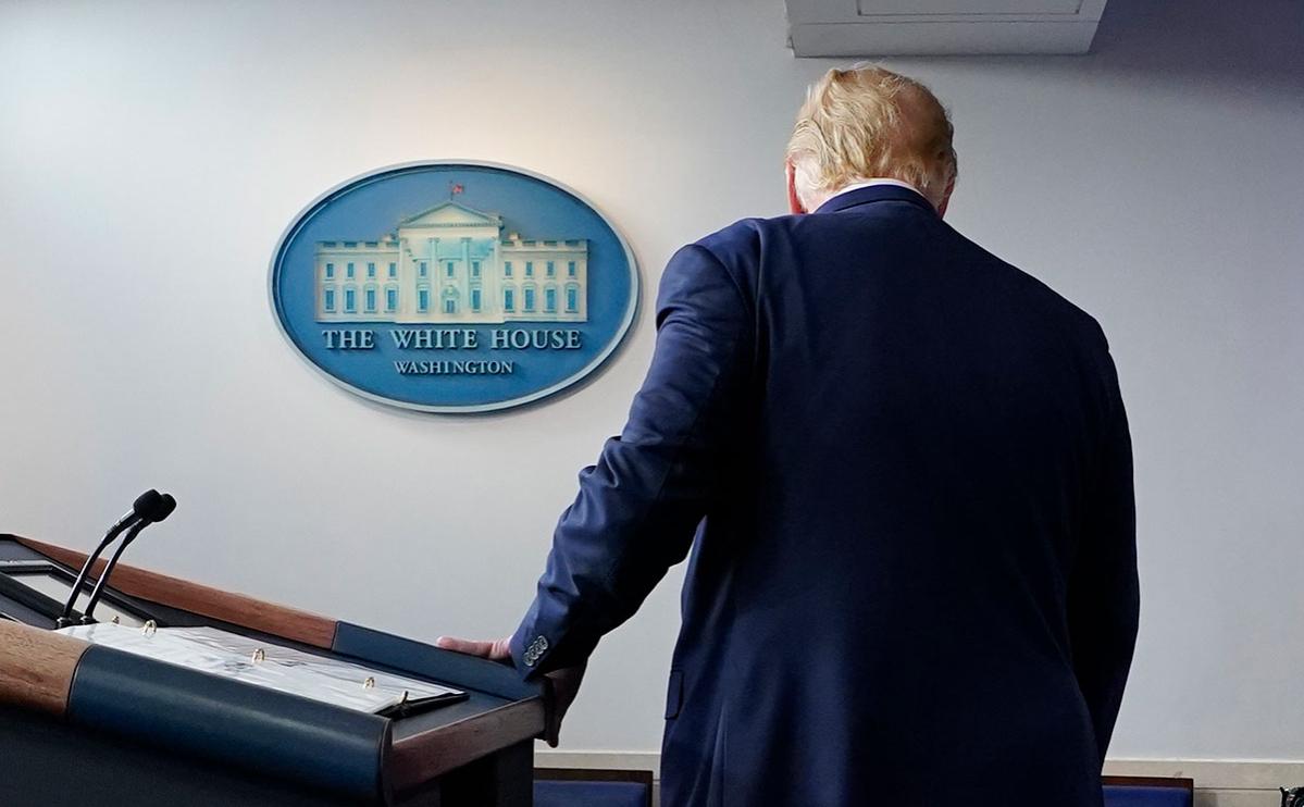 В конгрессе согласовали процедуру обсуждения импичмента Трампа