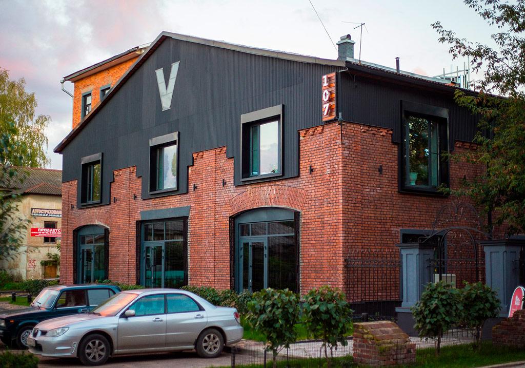 «107 пождепо», офисное здание, Тверь, 2016  Архитектор: Никита Маликов. Заказчик: «Объединение Безопасность»