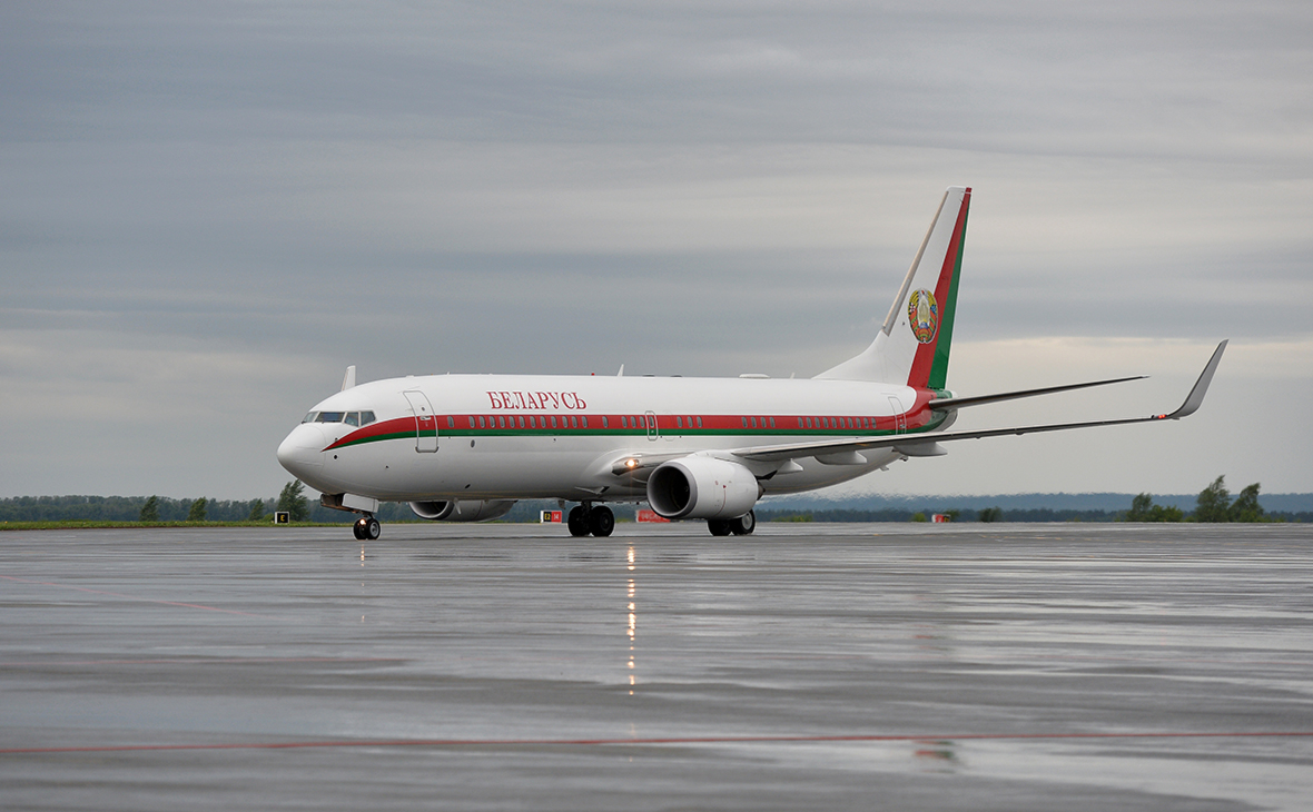 Самолет Президента Республики Белоруссия Александра Лукашенко