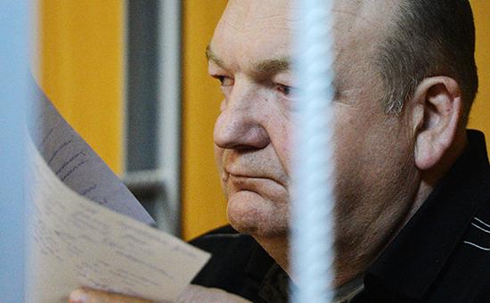 Бывший руководитель ФСИН Александр Реймер на заседании Пресненского суда Москвы