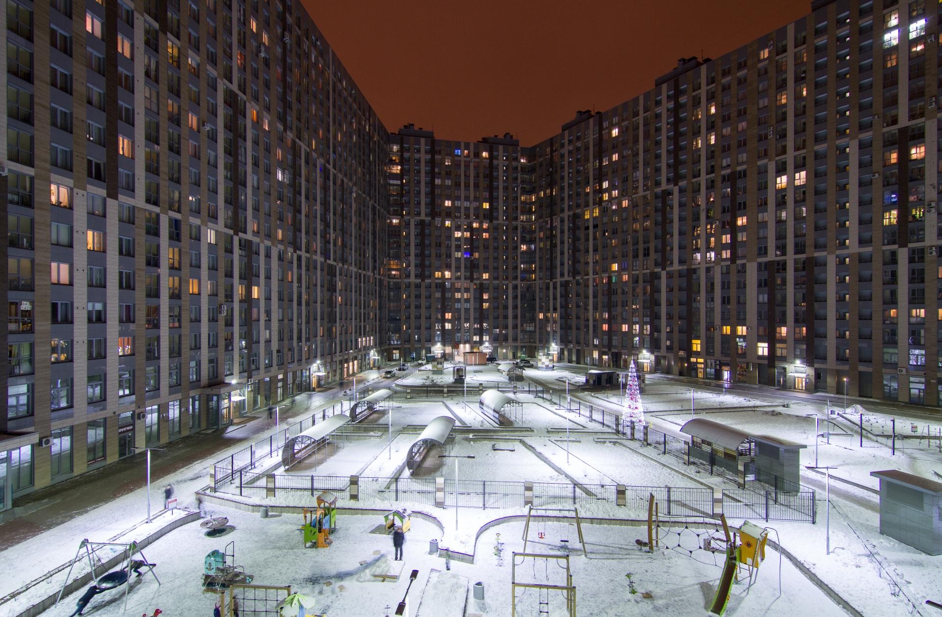 Новый дом в Санкт-Петербурге